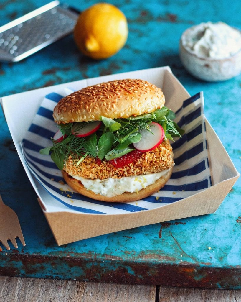 Fillet O Fish Burger - 21 Veggie Burger Recipes