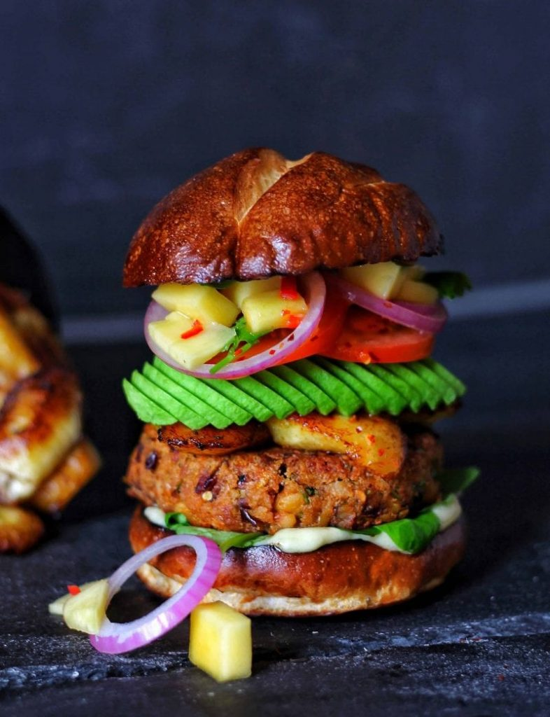 Jerk Burger - 21 Veggie Burger Recipes