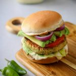 Easy Vegan Falafel Burger