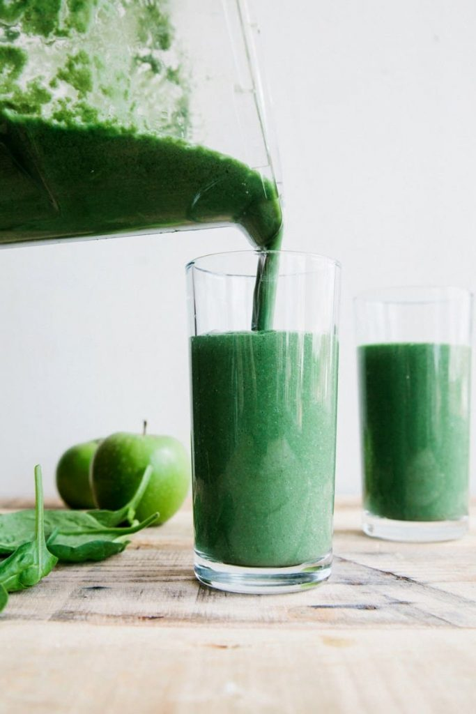 Green Protein Smoothie by Wallflower Kitchen. Are you going vegan for a month this January? Here are 31 easy vegan recipes to try this veganuary!