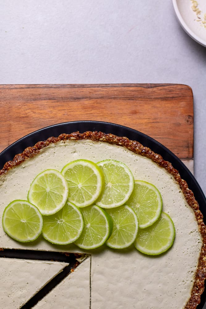 Our vegan key lime pie recipe is quick and easy to make as well as being gluten free and raw too!